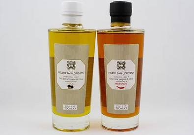 Feudo San Lorenzo to sample Truffle Olive Oil and Chilli Olive Oil at Eat and Drink Festival