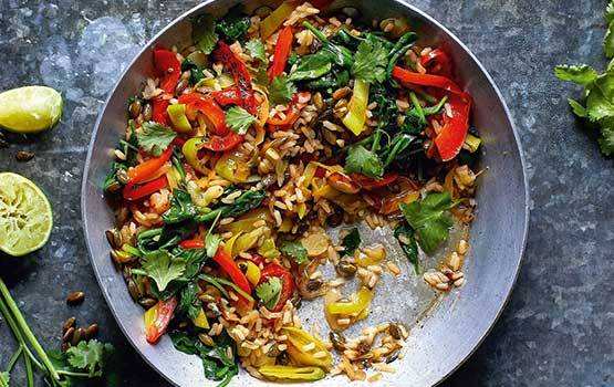 'I have nothing in my fridge' Stir-Fry